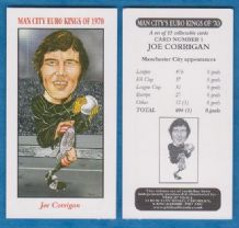 Manchester City Joe Corrigan England